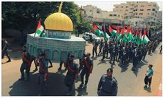 Today (Wednesday), Hamas held a rally under the title of 'the victory in the battle over the Al-Aqsa mosque' in Gaza. Units of the military wing marched in the streets of Gaza in a show of support and solidarity with the Temple Mount incidents. In addition, the terrorist organization called upon Palestinians in the West Bank …