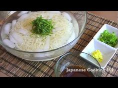 Somen (Cold Noodle) Recipe Video - Japanese Cooking 101 | Easy Japanese Recipes
