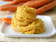 Carrot Ginger Sauce (for pasta, soba noodles, rice, etc.)
