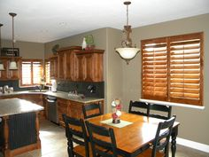 Knotty Pine Shutters Cabin Plantation Shutters