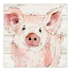 Liven up your home décor with the GA TEX HP PENELOPE PIG. Visit your local At Home store to purchase and find other affordable Home Décor. Animal Paintings, Animal Drawings, Art Drawings, Watercolor Animals, Watercolor Paintings, Watercolours, Pig Crafts, Pig Illustration, Pig Art