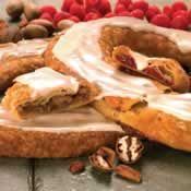 The very best Kringles ever. Perfect gifts for hard-to-buy-for friends and family. They are simply amazing! Pecan, Almond and Cherry are the favorites here. Wouldn't have a Christmas morning without them.