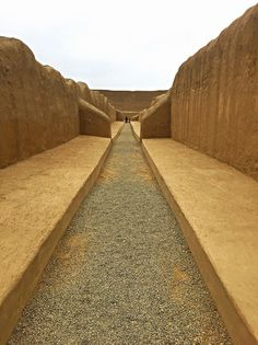 The incredible Pre-Incan Chan Chan archaeological site in Trujillo, Peru.
