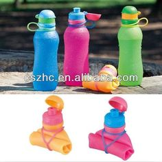 #5. Bottle Collapsible Football,500ml Collapsible Sports Water Bottle,Big Collapsible Water Bottle - Buy Bottle Collapsible Football,500ml Colla...