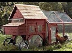 h hnerstall mobil h hnerhaus mit rollen. Black Bedroom Furniture Sets. Home Design Ideas