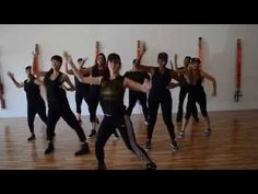 Rhythm Nation-Janet Jackson 80's Zumba Routine - YouTube