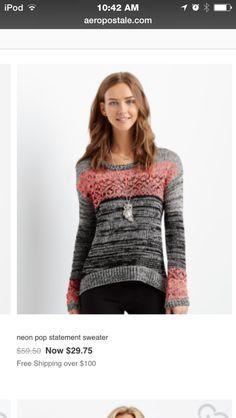"""Jingle bells jingle bells buy me this sweater"""