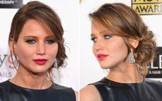 Penteado Jennifer Lawrence