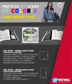 Proteja seu #LivroDeColorir :) Capas para #JardimSecreto, #FlorestaEncantada e mais!   #Desestresse  Veja mais: http://rev.al/ColorirSemEstresse