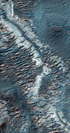 Sand Dunes and Ridges | by sjrankin MRO Mars Reconnaissance Orbiter