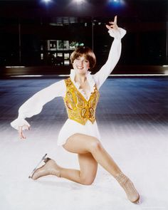 Dorothy Hamill.  (I even had the doll, which you could pose and spin around on a stand.)