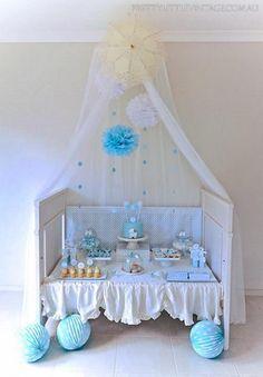 "Adorable ""shower"" themed baby shower for boy great idea! #babyshower #party #shower #boy #themedparty #theme #Jellifi  PLAN your SHOWER on JELLIFI.com"