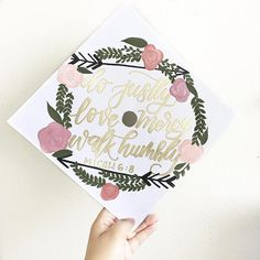 Custom GRADUATION CAP topper
