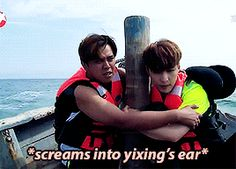 Go Fighting| Zhang Yixing and Show Luo [2/4]