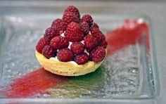 raspberry sablée