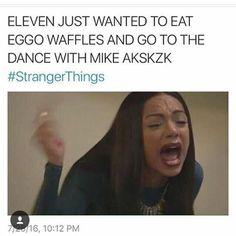 Meee❤️ #strangerthings