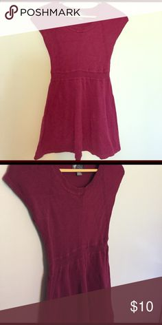 Long maternity shirt Knitted, short sleeve maternity shirt. Really cute with leggings Oh Baby by Motherhood Tops
