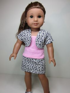 American Girl doll clothes 3 pce trendy by JazzyDollDuds on Etsy, $22.00