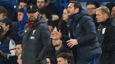 Chelsea Man United making transfer moves to challenge Liverpool Man City for Premier League title . Get the latest news for #chelsea inside pinterest on this board. Dont forget to Follow us. #chelseaboots #chelseagoal #viraldevi. June 09 2020 at 11:14PM Liverpool Vs Chelsea, Chelsea Team, Liverpool Premier League, Liverpool Players, Premier League Champions, Leicester, Psg, Coaches, London