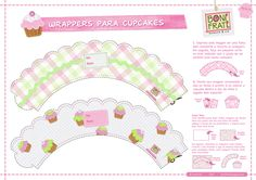 Wrappers para Cupcakes - Parte 01