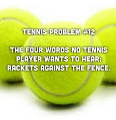 Tennis problem #12
