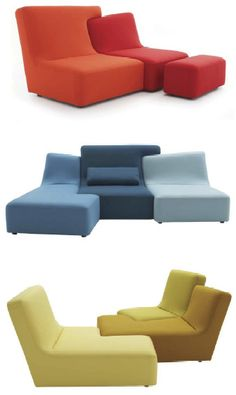 """Confluences"" designed by Philippe Nigro for Ligne Roset. F"