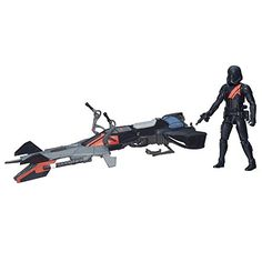 Star Wars The Force Awakens 375inch Vehicle Elite Speeder Bike * Want to know more, click on the image.Note:It is affiliate link to Amazon.