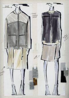 My name is Sarah Conlon and I am an FIT graduate with a BFA in Fashion Design and a Liberal Arts Minor in History of Art. With internship/assistant experience i Fashion Design Portfolio, Fashion Design Sketches, Fashion Designers, Fashion Illustration Sketches, Fashion Sketchbook, Spring Outfit Women, Winter Rock, Hipster, Student Fashion