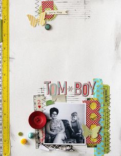 scrapbook page inspiration