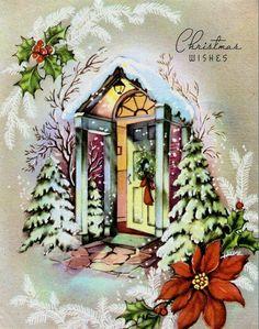 Bright Christmas crib.