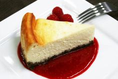 Orange peel in this creamy, ultra-rich cheesecake provides the perfect complement to the chocolate crust.