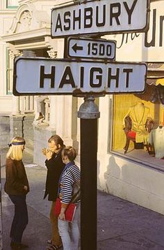 Legendary Haight-Asbury district in San Francisco, CA