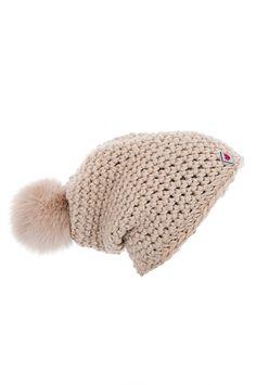 FRAUENSCHUH - Single-coloured crochet cap