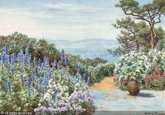 A Mediterranean garden sold by Christie's, London, on Thursday, March 25, 2004