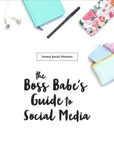 27 pages of social media, branding, and photo styling advice from experts. The best social media eBook around and it's free!