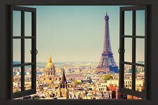 [$5.98 save 38%] PARIS WINDOW - SCENIC POSTER 24x36 - TRAVEL EUROPE FRANCE EIFFEL TOWER 51892 #LavaHot https://www.lavahotdeals.com/us/cheap/paris-window-scenic-poster-24x36-travel-europe-france/249899?utm_source=pinterest&utm_medium=rss&utm_campaign=at_lavahotdealsus&utm_term=hottest_12