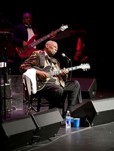 Legendary B.B. King performing at Lee Hall Auditorium
