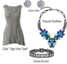 CAbi clothing meets Stella&Dot Jewelry. Fashion at it's finest www.stelladot.com/ts/cgpv5