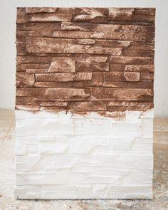 Placa Wallrock, Proceso de Pintado