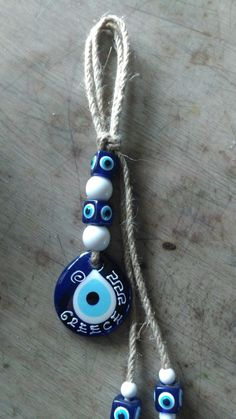 Devil Eye, All Seeing Eye, Evil Eye Jewelry, Evil Eye Charm, Amulets, Hamsa Hand, Air Dry Clay, Blue Beads, Christmas Crafts