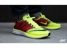 Nike Lunarspeed+ (volt / black - pimento - white)
