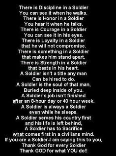 My dad is a retired Army soldier. I hope to carry on this legacy through Air National Guard! Military Quotes, Military Mom, Army Mom, Army Life, Military Veterans, Military Honors, Army Girlfriend, Military Humour, Military Ranks