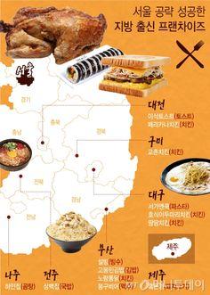 서울 점령한 프랜차이즈, 알고보니 지방 맛집들