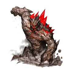 Onyx Scourge - Ironfang Invasion - Rare Earth Elemental - Pathfinder PFRPG DND D&D d20 fantasy