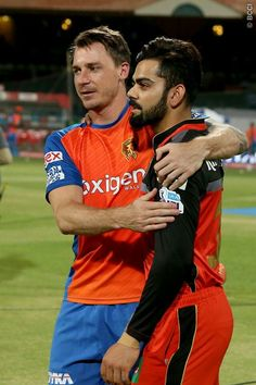 Virat with dale steyn Virat And Anushka, Test Cricket, Virat Kohli, Girly Pictures, My Passion, In This World, My Hero, Champion, Running
