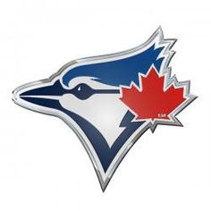 in AL East - Toronto Blue Jays Standing - Record - Home - Away Sports Merchandise, Toronto Blue Jays, Emboss, Vibrant Colors, Looks Great, Logos, Adhesive, Vehicle, Color Blue