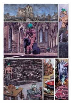 A page from Veil#3 (Dark Horse Comics). Story: Greg Rucka