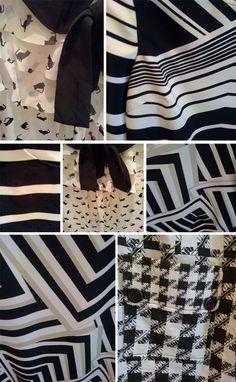 Street Patterns: Monochrome #pattern
