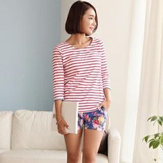 Buy 'IZABELA – Stripe T-Shirt' at YesStyle.ca plus more South Korea items and get Free Shipping on qualifying orders.