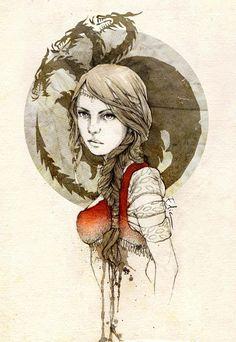 Daenerys Targaryen by elia-illustration.deviantART.com